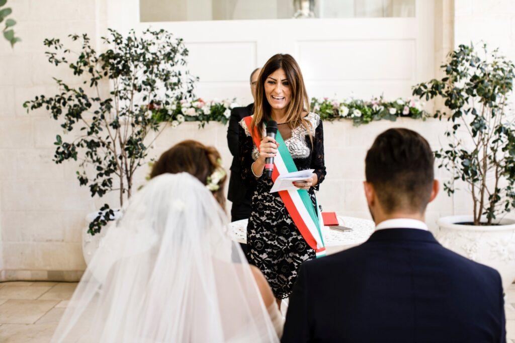 Celebrante matrimonio